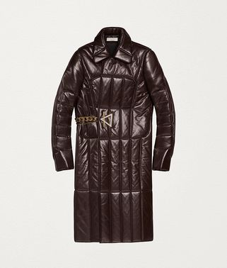 COAT IN QUILTED NAPPA