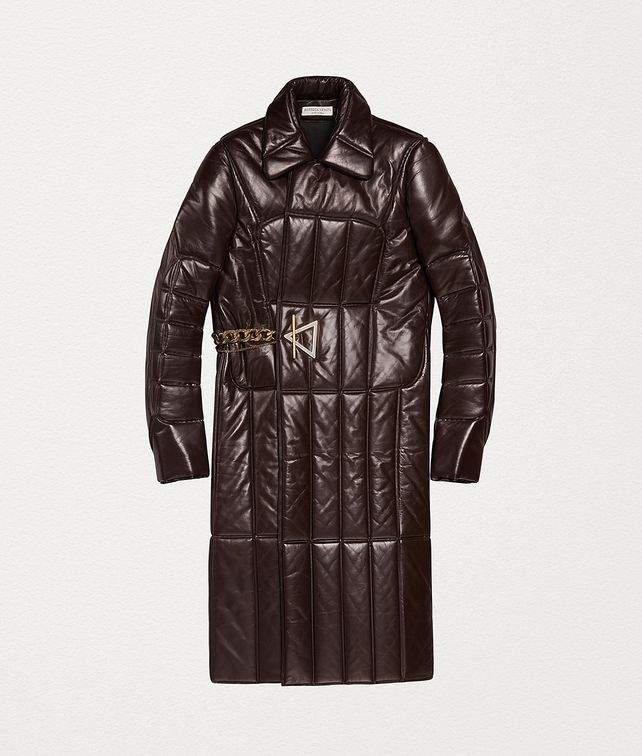 BOTTEGA VENETA COAT IN QUILTED NAPPA Outerwear and Jacket Woman fp