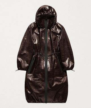 ANORAK IN PAPER CALF LEATHER