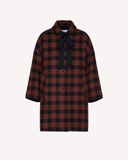 Glen Plaid coat