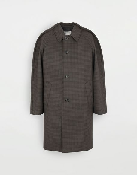 MAISON MARGIELA Outline check coat Coats and Trenches Man f