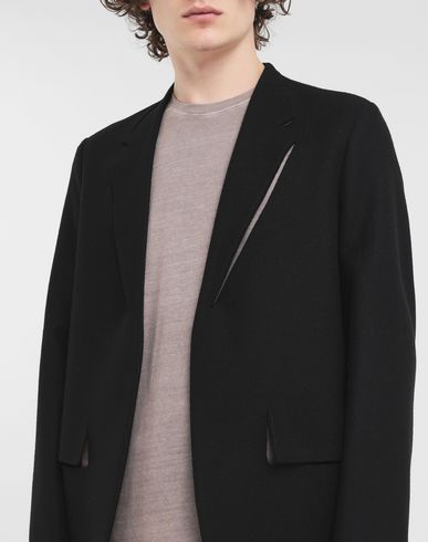 COATS & JACKETS Décortiqué jacket Black