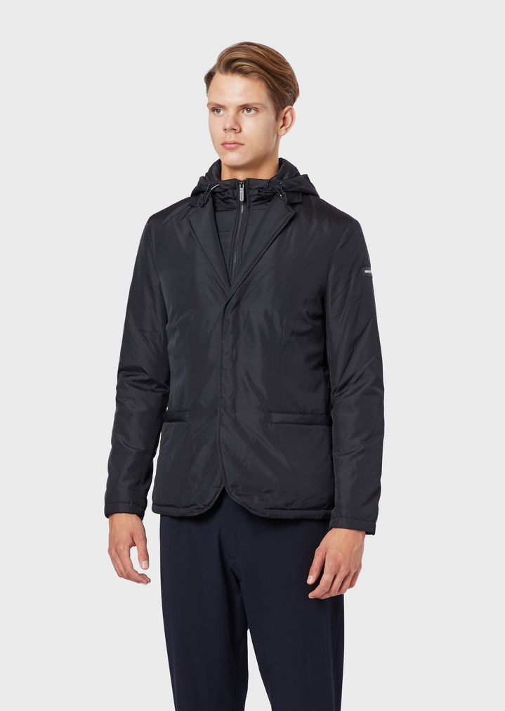 c56a9f6abf Jacket in technical fabric with inner bib