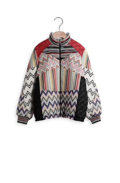 MISSONI KIDS Coat Red Woman - Back