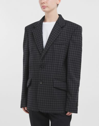 COATS & JACKETS Padded blazer Grey