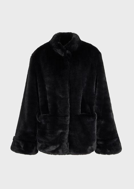 EMPORIO ARMANI Eco Fur Woman d