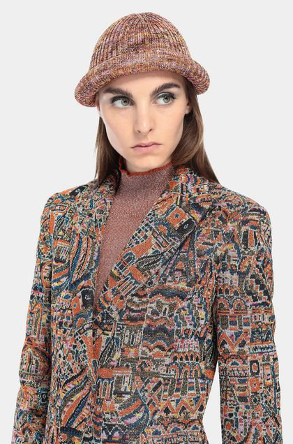 MISSONI Jacket Orange Woman - Front
