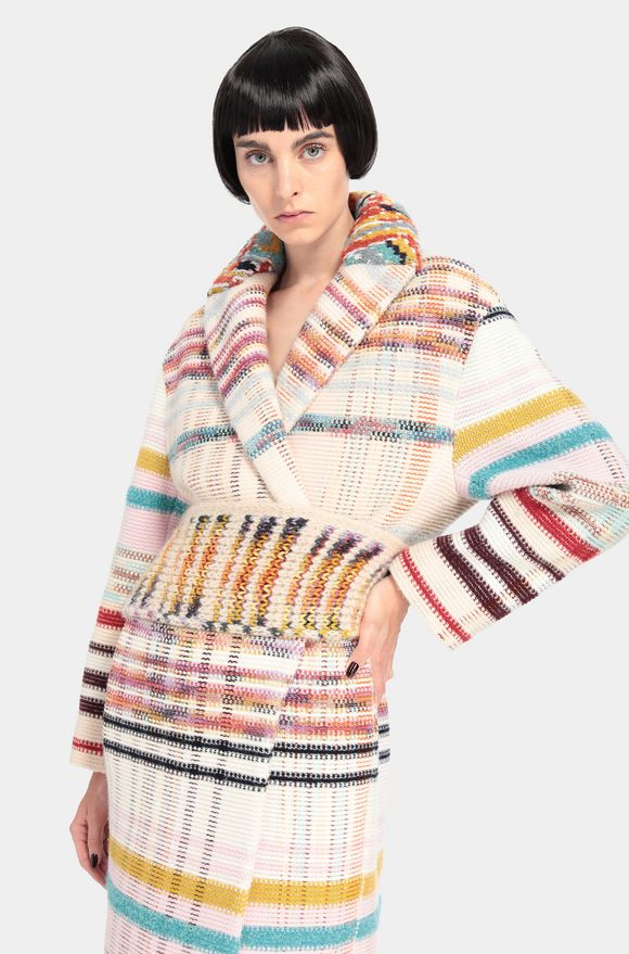 MISSONI Coat Woman, Rear view