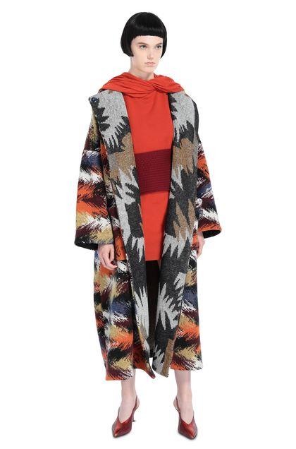 MISSONI Coat Black Woman - Back