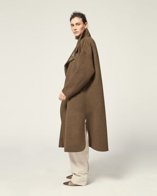 ISABEL MARANT COAT Woman RELTON COAT r