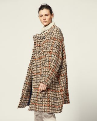 ISABEL MARANT COAT Woman ZABAN COAT r