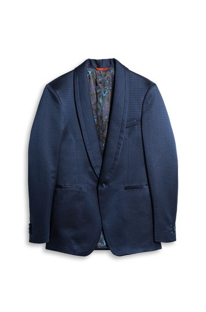 MISSONI Jacket Blue Man - Back