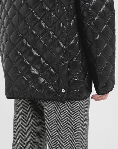 COATS & JACKETS Quilted jacket Black