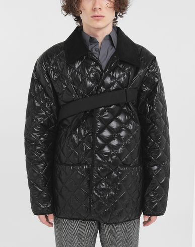 COATS and JACKETS Quilted jacket Black