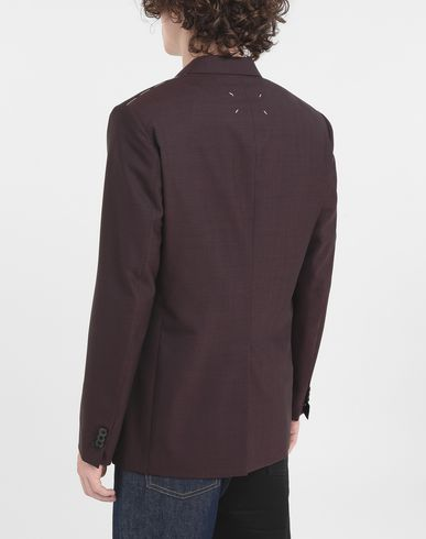 COATS & JACKETS Wool blazer Deep purple
