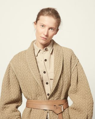 ISABEL MARANT ÉTOILE COAT Woman FRANY JACKET r
