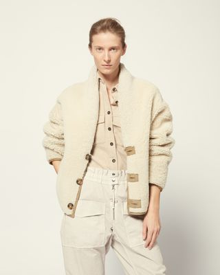 ISABEL MARANT ÉTOILE COAT Woman CARTER SHORT COAT r
