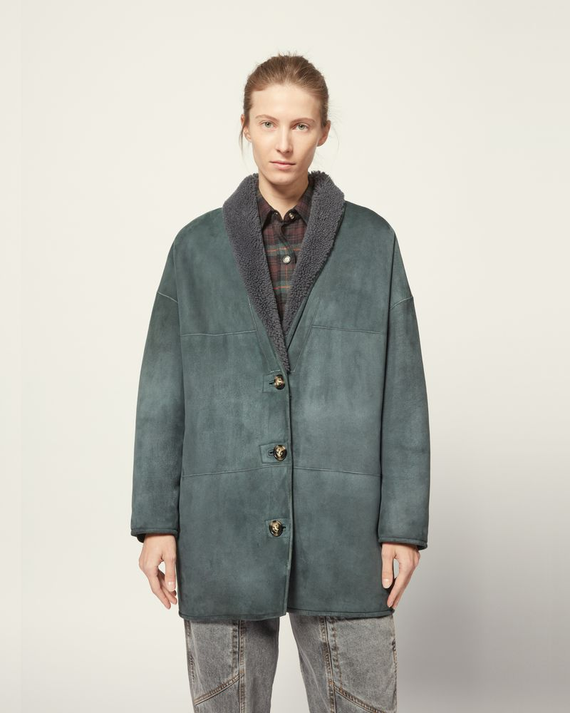 CARMAN COAT ISABEL MARANT ÉTOILE