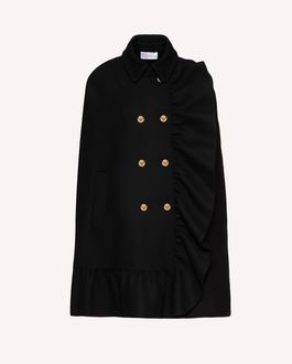 REDValentino Coat Woman SR3CAA48497 0NO a