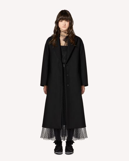 REDValentino Coat Woman SR0CAA95497 0NO f