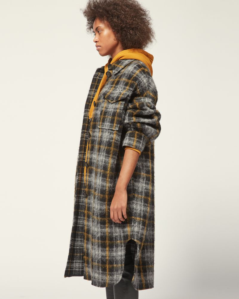GABRION COAT ISABEL MARANT ÉTOILE