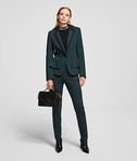 KARL LAGERFELD TAILORED JACKET WITH PEPLUM
