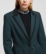 KARL LAGERFELD Taillierte Jacke mit Peplum-Einsatz 9_f