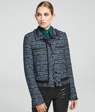 KARL LAGERFELD Jacket Woman Bouclé Jacket f