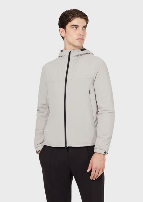 Travel Essential jacket in matte stretch nylon