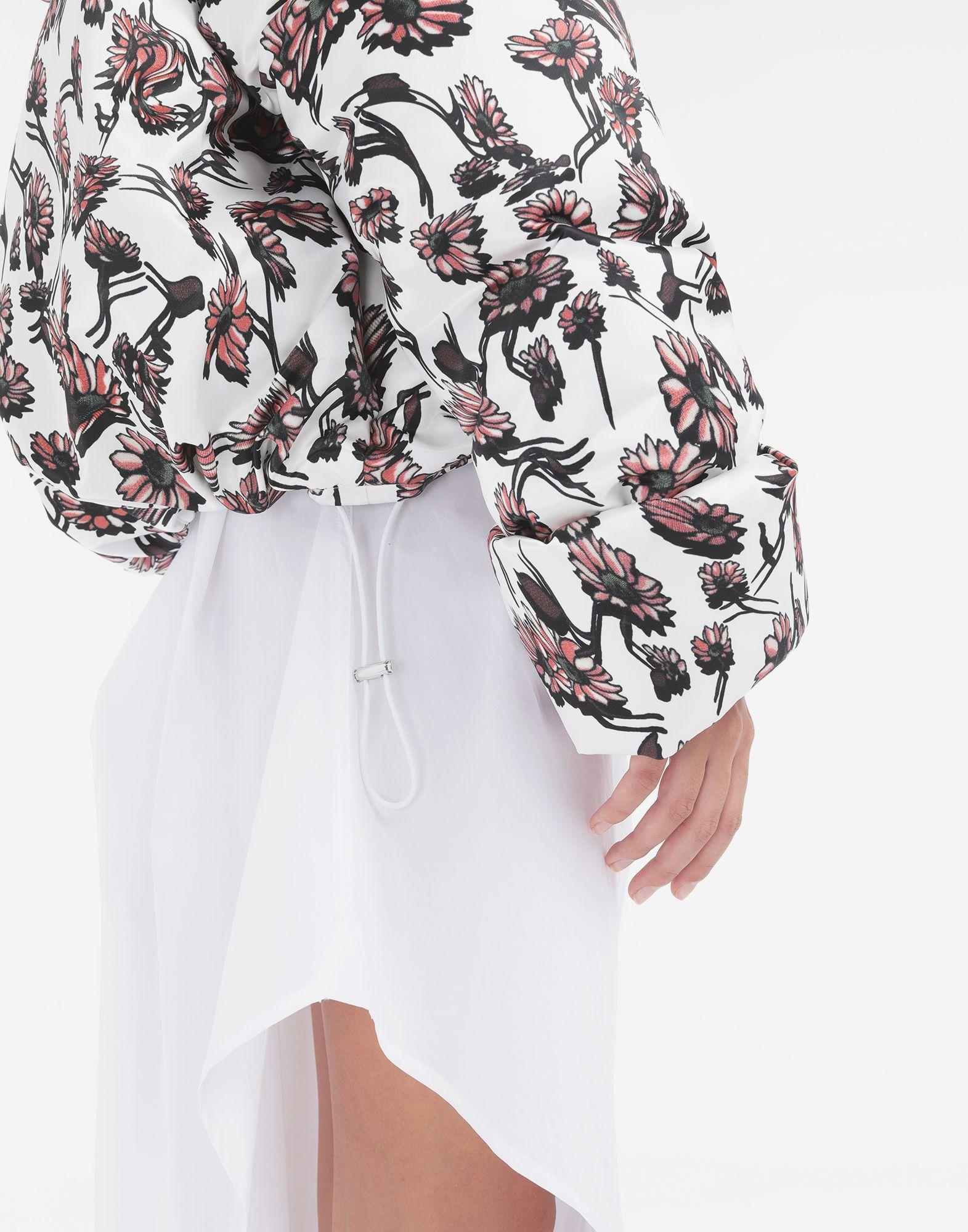 MM6 MAISON MARGIELA Утеплённая куртка с цветочным мотивом Куртка Для Женщин b