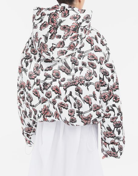 MM6 MAISON MARGIELA Утеплённая куртка с цветочным мотивом Куртка Для Женщин e