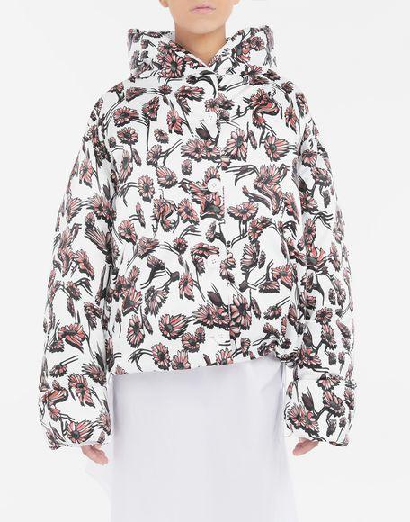 MM6 MAISON MARGIELA Утеплённая куртка с цветочным мотивом Куртка Для Женщин r