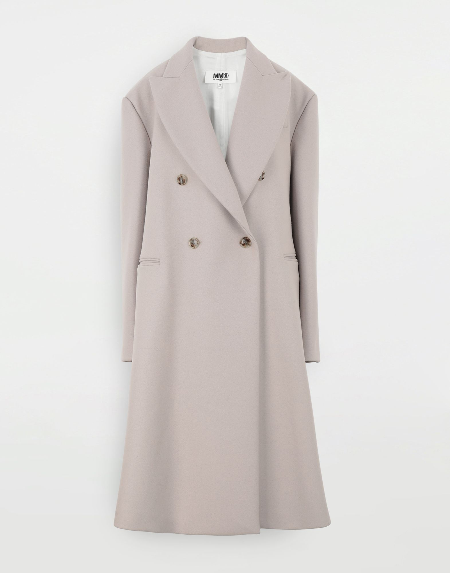 MM6 MAISON MARGIELA Oversized coat Coats and Trenches Woman f