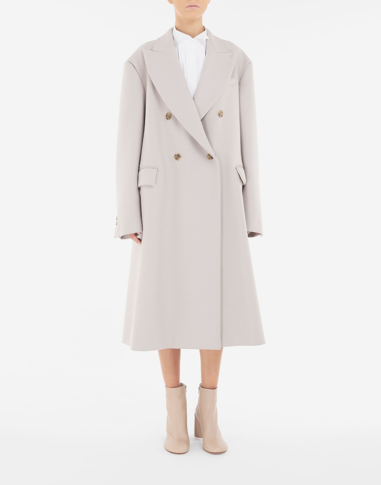 MM6 MAISON MARGIELA Oversized coat Coats and Trenches Woman r