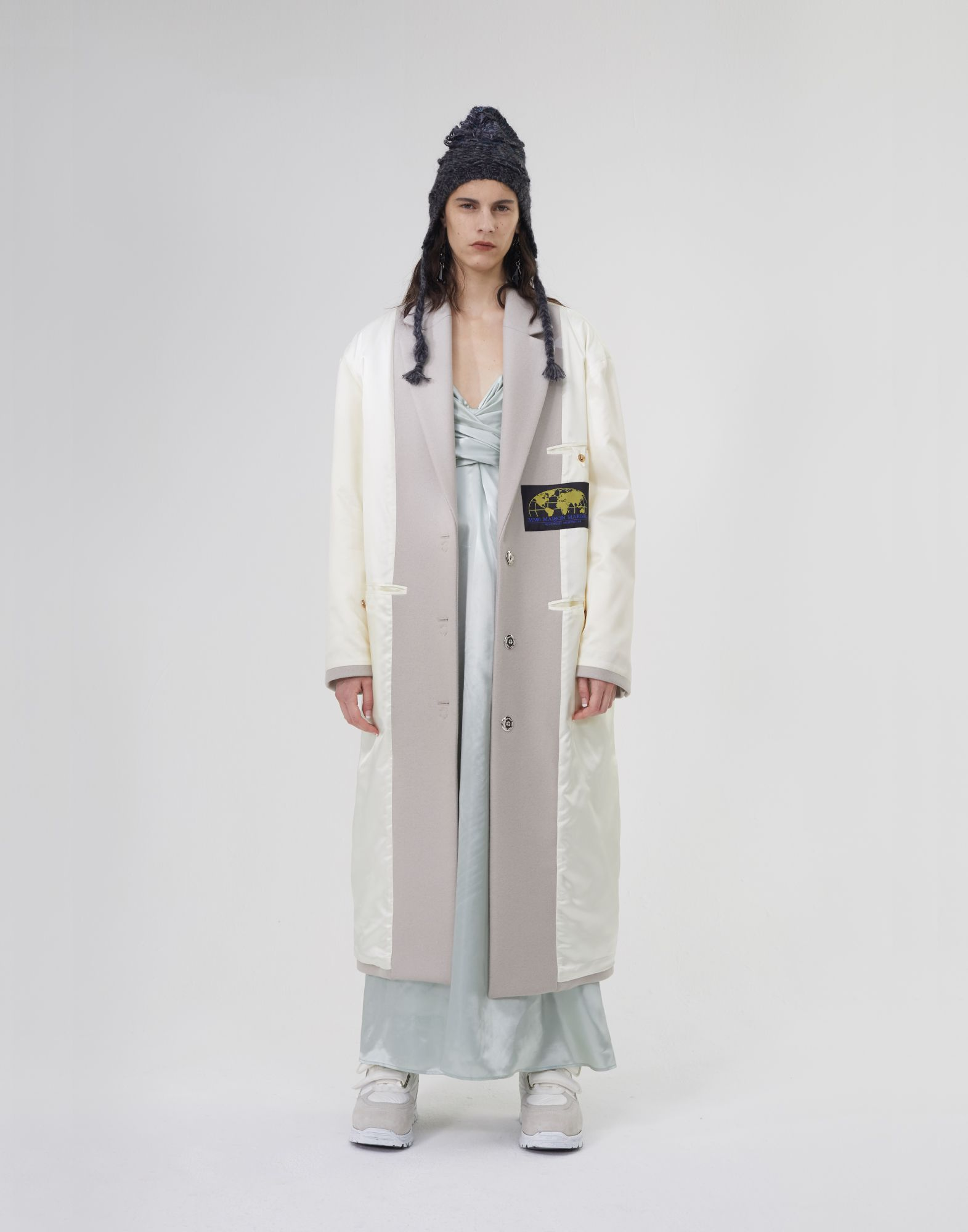 MM6 MAISON MARGIELA Cappotto Reversed imbottito Cappotti e Trench Donna r