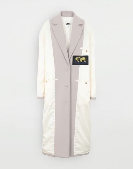 MM6 MAISON MARGIELA Reversed padded coat Coats and Trenches Woman f