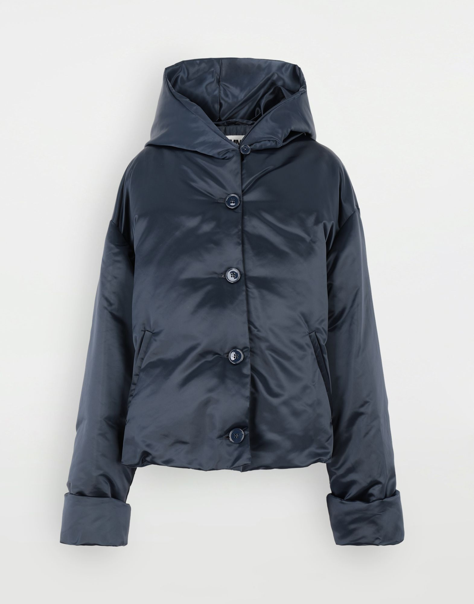 MM6 MAISON MARGIELA Hooded padded jacket Light jacket Woman f