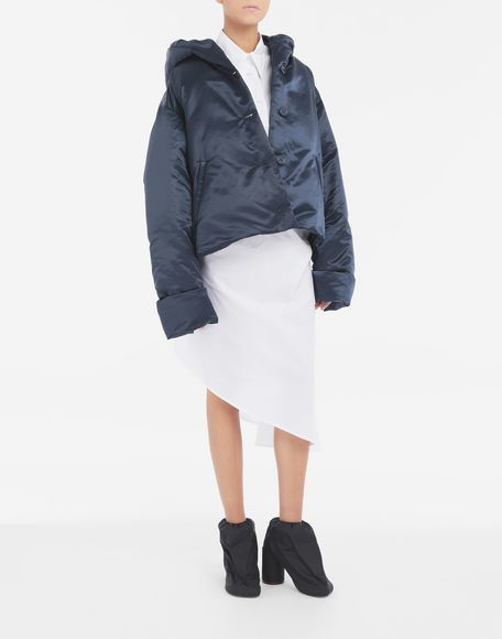 MM6 MAISON MARGIELA Hooded padded jacket Light jacket Woman d