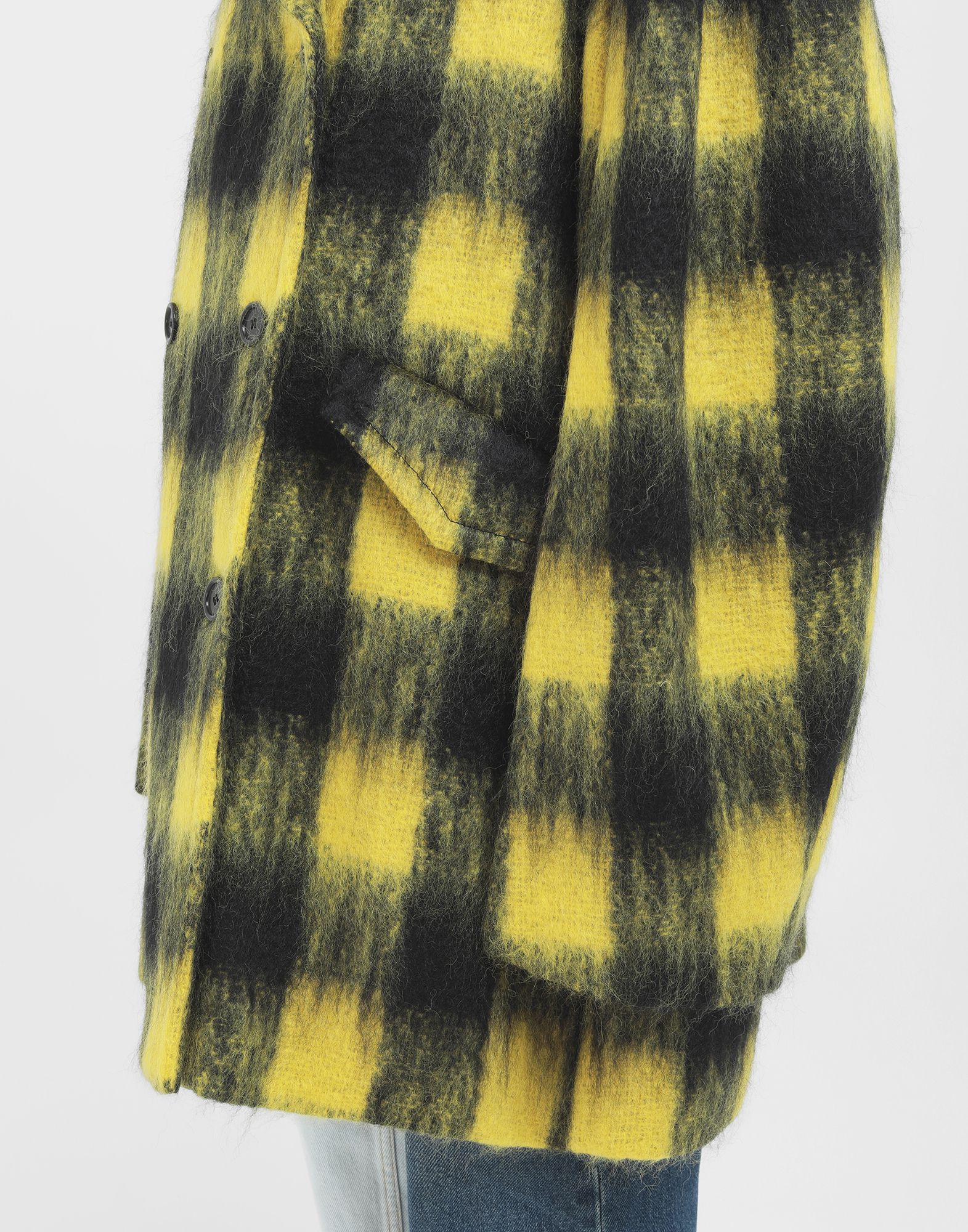 MAISON MARGIELA Mantel aus Mohair im Bolero-Stil Mantel Damen b