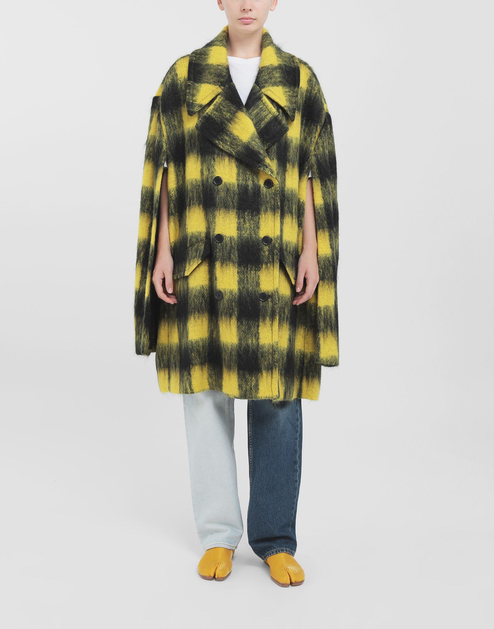 MAISON MARGIELA Mantel aus Mohair im Bolero-Stil Mantel Damen r