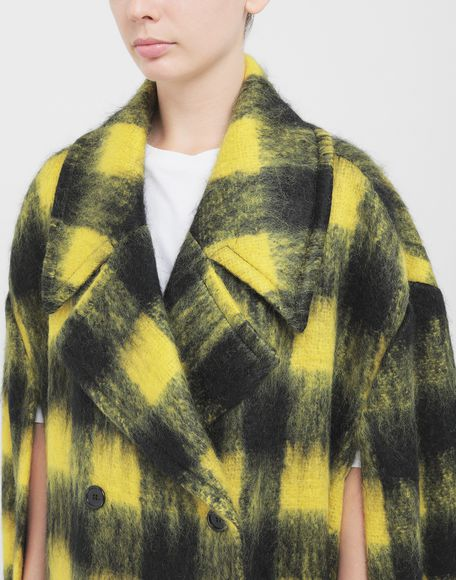 MAISON MARGIELA Mantel aus Mohair im Bolero-Stil Mantel Damen a