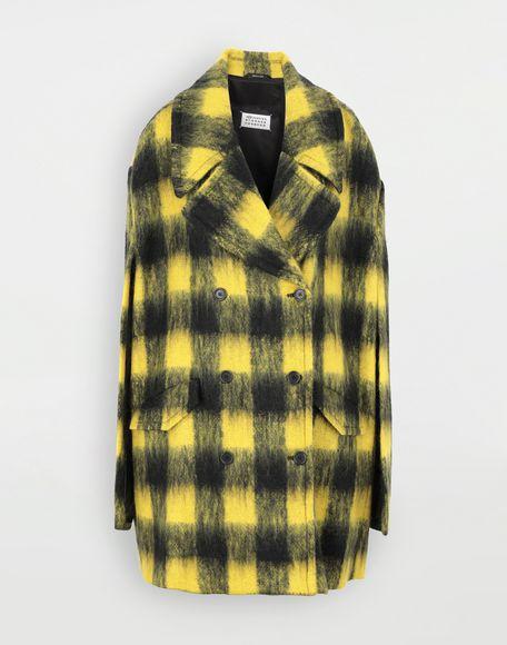 MAISON MARGIELA Mantel aus Mohair im Bolero-Stil Mantel Damen f