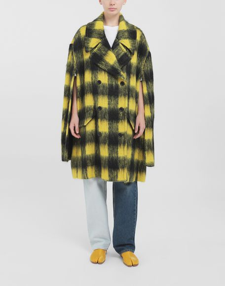 MAISON MARGIELA Shrug mohair coat Coats and Trenches Woman r