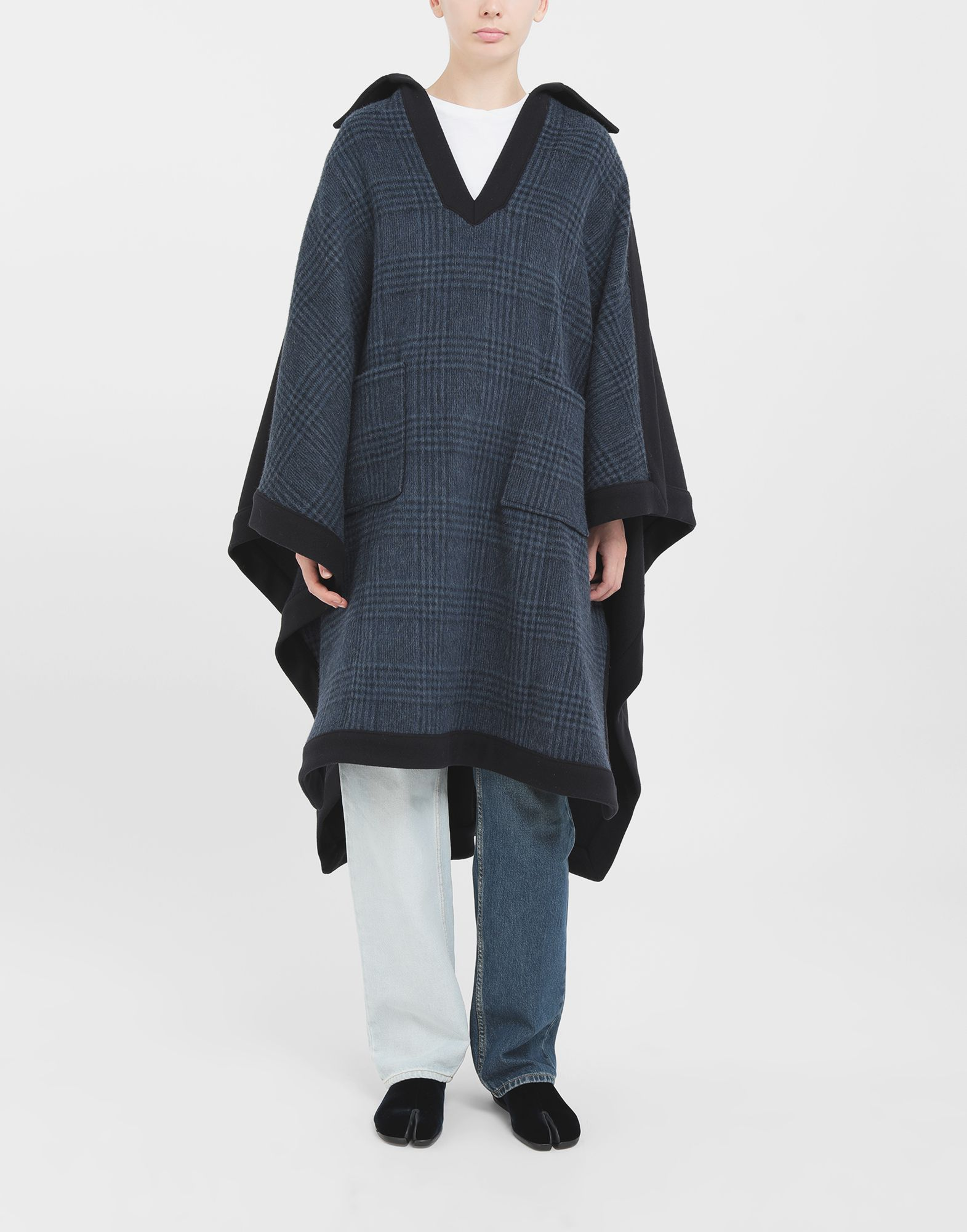 MAISON MARGIELA Poncho Coats and Trenches Woman r