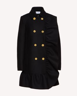 REDValentino Coat Woman SR0CAA95497 0NO a
