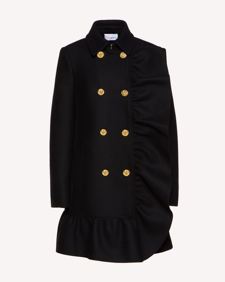REDValentino Coat Woman SR0CAB25497 0NO a