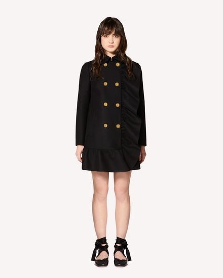 REDValentino Coat Woman SR0CAB25497 0NO f