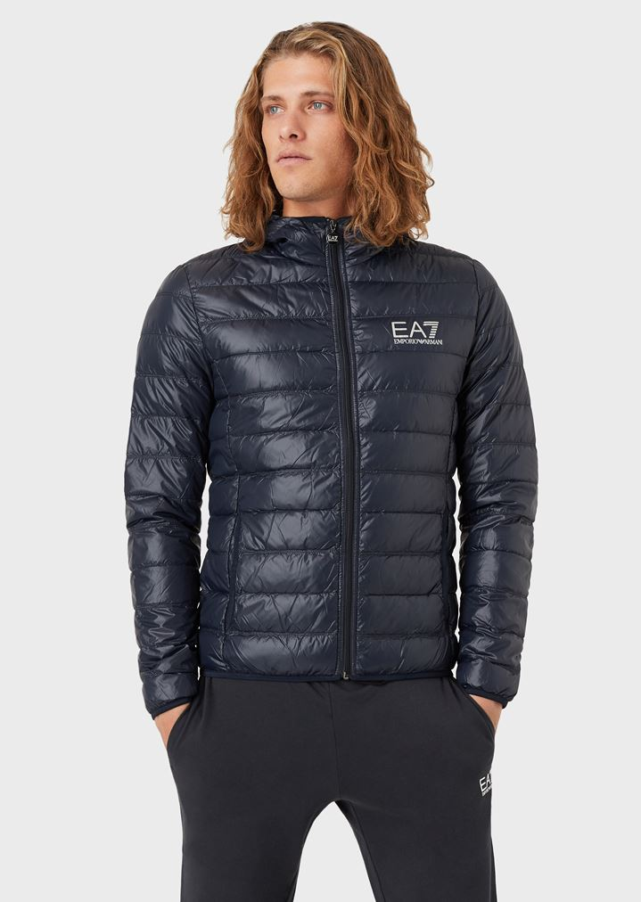 07fc47e8a4 Full-zip technical fabric down jacket