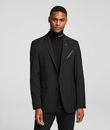 KARL LAGERFELD CARTOON SUIT JACKET
