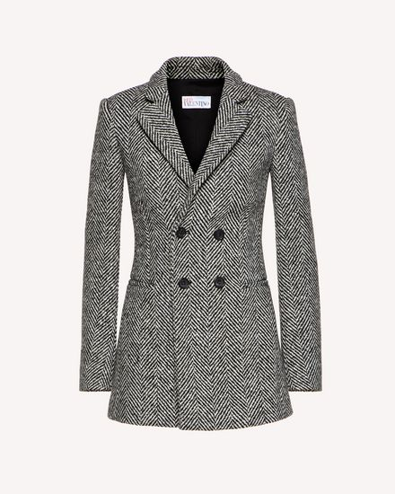 REDValentino Jacket Woman SR0CEB0041B 0NO a